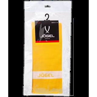 Гетры футбольные Jögel Ja-003, желтый/белый размер 42-44