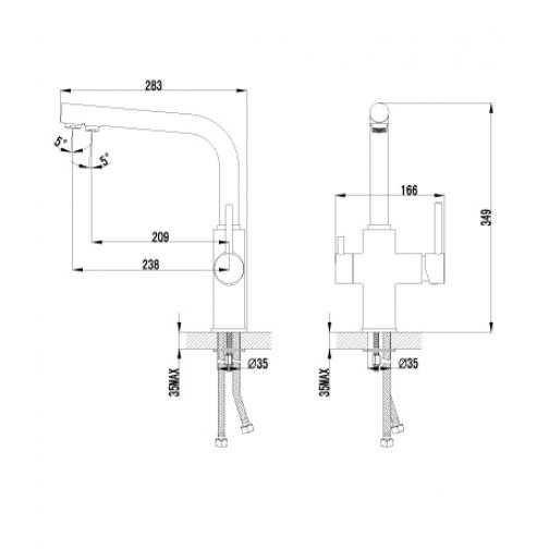 Однорычажный смеситель Lemark Comfort LM3060C 6690899 1