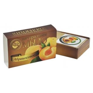 Натуральное мыло Абрикосовое Крымская натуральная Коллекция