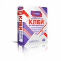 Клей для газобетона РЕАЛ /25,0 кг/ (48 шт на поддоне)