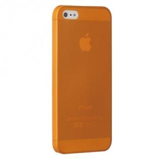 Чехол на заднюю крышку Ozaki O!Coat 0.3 Jelly для iPhone 5/5S/SE, цвет Orange (OC533OG)