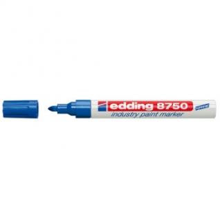 Маркер для промышленной графики EDDING E-8750/3 синий 2-4мм