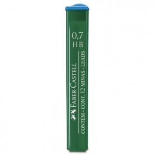 Стержень микрографический POLYMER, 0,7мм, твердость НВ, (12 грифелей),52170