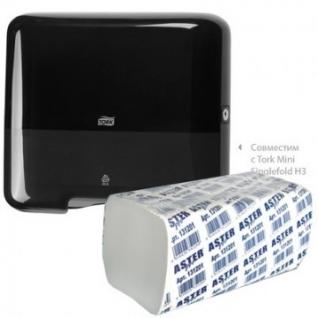 Полотенца бумажные д/держ.ASTER Pro 131201 V 2-сл.200л*20пач/уп