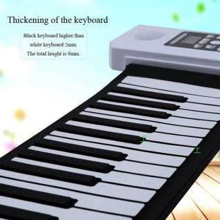 Электронное пианино складное из силикона Roll up piano 61 клавиша Bora