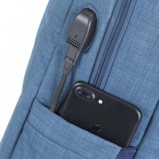 Рюкзак для ноутбука RIVACASE 8365 blue 17.3 / 6(8365 Blue)