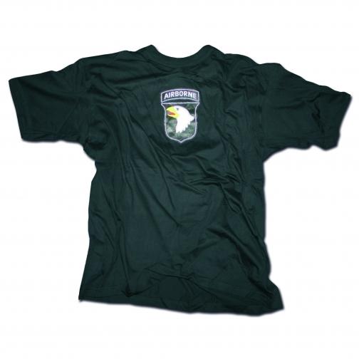 Mil-Tec Футболка 101st Airborne Division, цвет черный 5025931