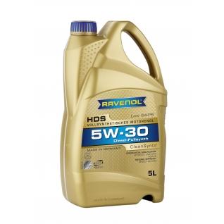 Моторное масло Ravenol HDS Hydrocrack Diesel Specif 5W30 5л