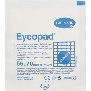 Перевяз. ср-ва Глазная стерильная повязка, 56*70мм, 25 шт./уп, EYCOPAD