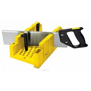 Пластиковое стусло с ножовкой Stanley 1-20-600