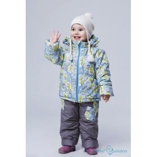 """Демисезонный костюм для девочки """"Подснежник"""" Sweet Cocoon (Куртка + ..."""