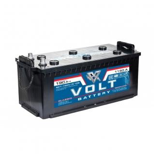 Аккумулятор VOLT Classic 6CT- 190.3 190 Ач (A/h) обратная полярность - VC 19001 VOLT VC6CT-190 NR