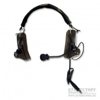 Z-Tactical Гарнитура головная Comtac II Z041, камуфляж лесной