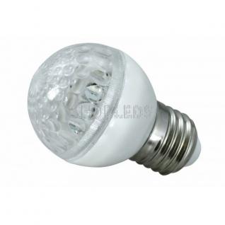 Neon-Night Лампа шар e27 10 LED ∅50мм синяя 24В