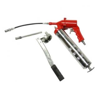 Солидолонагнетатель пневматический 500 мл/картридж 470мл (max 400 бар) Rotake