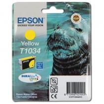 Картридж Epson T10344A для Epson Office T30, T40W, TX600FW, оригинальный, увеличенный (жёлтый, 960-1045 стр.) 7574-01