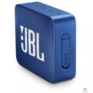 Jbl JBL GO 2 синий 3W 1.0 BT/3.5Jack 730mAh (JBLGO2BLU)