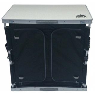 Стол кухонный двухсекционный Trek Planet Master cook Alu 84 XL White (AC-585D)