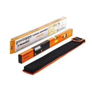Уровень электронный HAMMER DUC 40 GRAVIZAPPA 9В, точность 0.5мм/м, 0,2° + ...