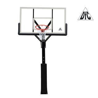 DFC Баскетбольная стационарная стойка DFC ING72G 180x105CM стекло (четыре короба)