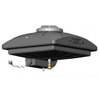 Бак для душа 250 л с крышкой и электрическим обогревом (Д250ЭО)
