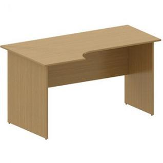 Мебель MON_Канц Стол эргономичный левый СК36.9 орех
