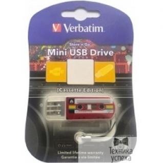 Verbatim Verbatim USB Drive 32Gb Mini Cassette Edition Red 49392 USB2.0