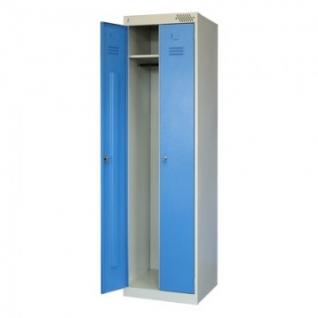 Метал.Мебель MZ_ШРЭК-22-530 шкаф д/одежды 2дв.530х500х1850