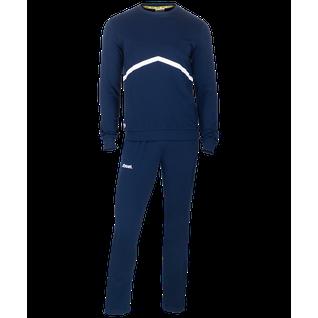 Тренировочный костюм Jögel Jcs-4201-091, хлопок, темно-синий/белый размер XXXL