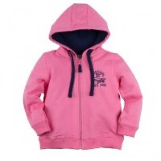 """Толстовка для девочки """"Bossa Nova"""", с капюшоном и принтом, цвет: розовый, размер 24, рост 68 см Bossa Nova"""