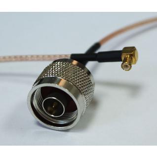 Пигтейл n-male - mmx (угловой) 15-30 см кабельный переходник Kabelprof