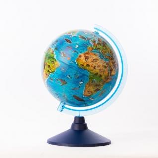 Зоогеографический глобус, 25 см Globen