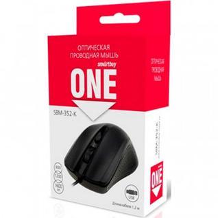 Мышь компьютерная Smartbuy ONE 352 черная (SBM-352-K)