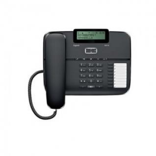Телефон Gigaset DA710 black,redial,память 100 ном.,гр.связь