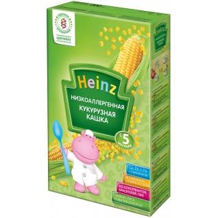 Кукурузная низкоаллергенная кашка Heinz (с 5 мес.), 200 гр.