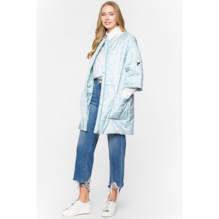 Пальто ODRI MIO 18410513-2 Пальто ODRI MIO BLUE LACE (голубой)