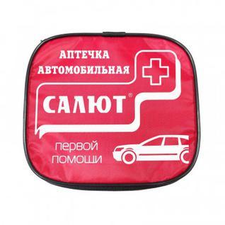 Аптечка автомобильная Салют (новый состав) (мягкий футляр)