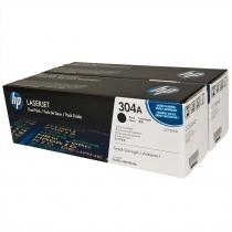 Двойная упаковка оригинальных картриджей HP CC530AD для HP Color LaserJet 2320,2025 series (чёрный, 2 шт. х 3500 стр.) 4571-01 Hewlett-Packard