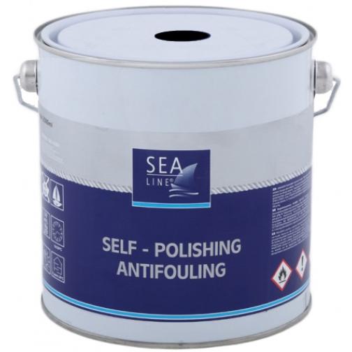 Необрастающая краска (антифоулинг) Sea-Line Alu Plus 2,5л чёрная (8030) 36993510