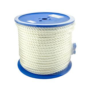 Веревка устойчивая к УФ Conacord DIN967 полиэстер белый D10x3 мм (80м)