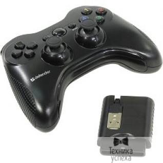 Defender DEFENDER Беспроводной геймпад Scorpion L3 USB-PS2-PS3, радио, Li-Ion 64266