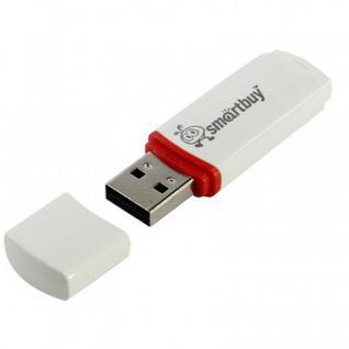 Флеш-память Smartbuy 16GB Crown White