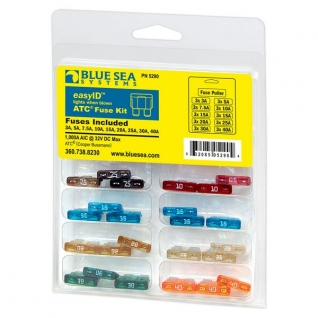 Blue Sea Комплект предохранителей Blue Sea Fuse Kit 5290 со светодиодной индикацией