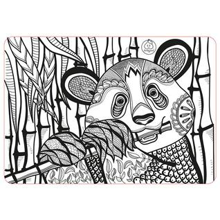 "ЯиГрушка Коврик-раскраска маленький ""Панда"" размер 48х33,5 см Арт 59893"