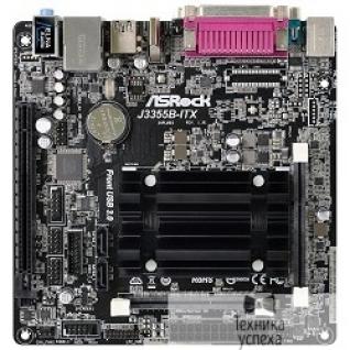 Asrock ASRock J3355B-ITX Intel Celeron J3355 2xSODIMM DDR3/DDR3L PCI-Ex16 HDMI/DSub 2xSATA3 3xUSB3 GLAN COM LPT mini-ITX RTL