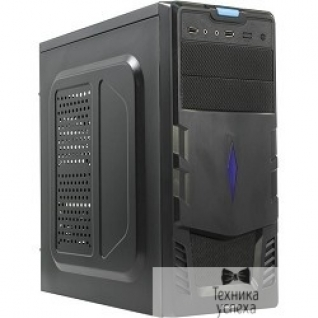 EXEGATE Exegate EX256136RUS Корпус Miditower Exegate EVO-7212 <Black, черные шасси и БП 500NPX, 120mm,ATX, 3*SATA,USB, Audio>