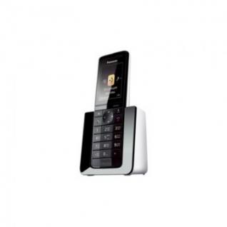 Радиотелефон Panasonic KX-PRS110RUW (АОН,радионяня,ЭКО-режим)черно-белый