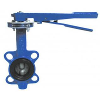 Затвор поворотн дисковый ручн ДУ- 50 PN16 (темп -30 +130, диск-чугун, уплотн-резина EPDM)