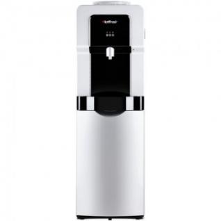Кулер для воды HotFrost V900CS серебристый, компрессорное охлаждение, шкафч