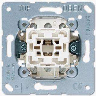 Механизм выключателя Jung 503U одноклавишный 10А балансирный трехполюсный